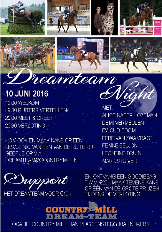 Dreamteam night juni 2016-2